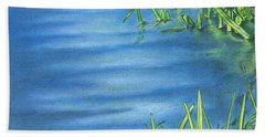 Morning On The Pond Bath Towel