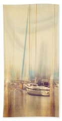 Morning Sail Hand Towel by Amy Weiss