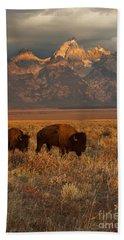 Bison Hand Towels