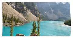 Morraine Lake Bath Towel