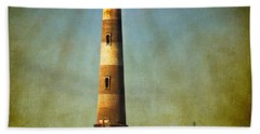 Morris Island Light Color Vintage Hand Towel