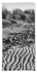 Morro Beach Textures Bw Bath Towel