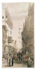 Mosque El Mooristan, Cairo, From Egypt Bath Towel