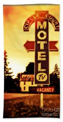 Motel Hell Hand Towel