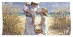 Mothers Day Beach Hand Towel