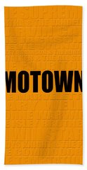 Motown Bath Towel