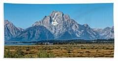 Mount Moran Bath Towel by John M Bailey