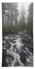 Mount Rainier National Park Bath Towel