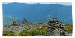Mount Washington Rock Cairns Hand Towel