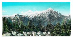 Mount Washington Bath Towel