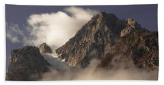 Mountain Clouds Bath Towel