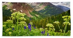 Mountain Majesty Hand Towel by Priscilla Burgers