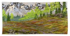 Mountain Meadow Bath Towel