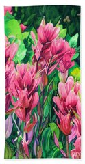 Mountain Meadows' Paintbrush Hand Towel