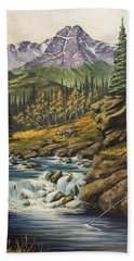 Mountain Of The Holy Cross Bath Towel