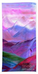 Mountain Reverence Bath Towel