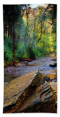 Mountain Stream N.c. Hand Towel