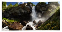 Mountain Tears Bath Towel by Jeremy Rhoades