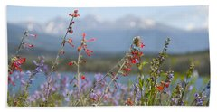 Mountain Wildflowers Hand Towel