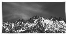 Hand Towel featuring the photograph North Cascade Mountain Range by Yulia Kazansky