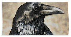 Mr. Raven Bath Towel