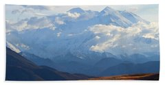 Mt. Denali Hand Towel by Ann Lauwers