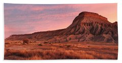 Mt Garfield Sunrise Hand Towel