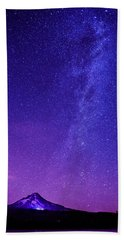 Mt. Hood Milky Way 01 Hand Towel