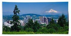 Mt Hood Portland Oregon Usa Hand Towel