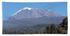 Mt Kilimanjaro  Bath Towel