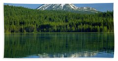 1m5705-h-mt. Mcloughlin From Lake Of The Woods Hand Towel