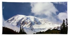 Mt Rainier II Bath Towel