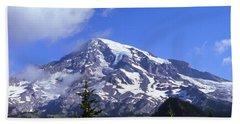 Mt. Rainier Hand Towel
