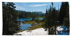 Mt. Rainier Wilderness Hand Towel by Tikvah's Hope