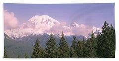 Mt Ranier Mt Ranier National Park Wa Bath Towel