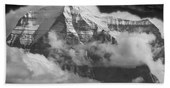 102496-mt. Robson Wreathed In Clouds Hand Towel