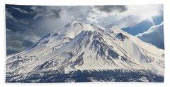 Mt Shasta Bath Towel by Athala Carole Bruckner