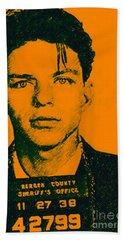 Mugshot Frank Sinatra V1 Bath Towel