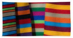 Multicolour Horizontal Line Bath Towel