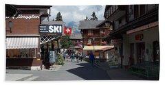 Murren Switzerland Hand Towel