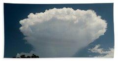 Mushroom Cloud Bath Towel