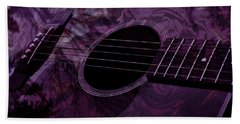 Music Of The Roses Hand Towel