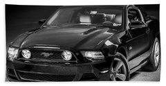 Mustang Gt Bath Towel