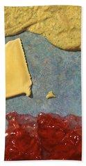 Mustard  Cheese Jam Hand Towel