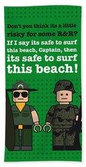My Apocalypse Now Lego Dialogue Poster Hand Towel
