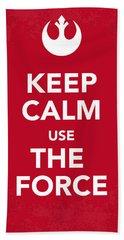 My Keep Calm Star Wars - Rebel Alliance-poster Bath Towel