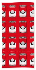 My Mario Warhols Minimal Can Poster-mario-2 Hand Towel