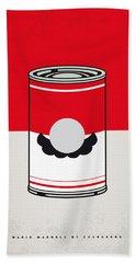 My Mario Warhols Minimal Can Poster-mario Hand Towel