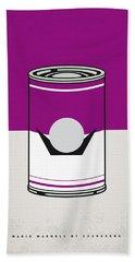 My Mario Warhols Minimal Can Poster-waluigi Hand Towel