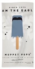 My Muppet Ice Pop - Sam The Eagle Hand Towel